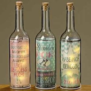 Lichterkette In Flasche : flasche mit led beleuchtung und spruch sport gewicht nur eur ~ Markanthonyermac.com Haus und Dekorationen