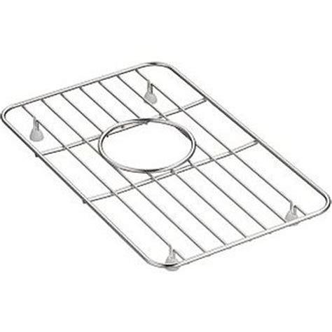 kohler k 5874 st whitehaven small basin rack stainless