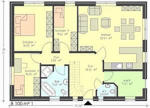 Grundriss Bungalow 100 Qm : bungalow 80 qm grundriss die neuesten innenarchitekturideen ~ Markanthonyermac.com Haus und Dekorationen