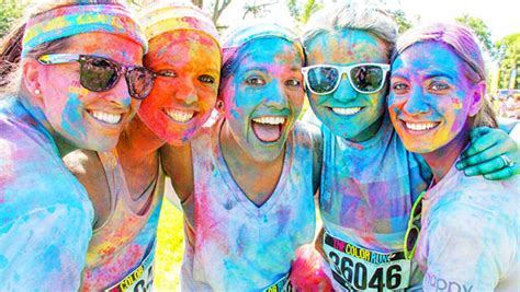 10 Reasons You Should Do The Color Run Active