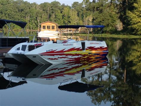 Party Cat Boat by Advantage Boats Party Cat 28xl 2007 For Sale For 64 500