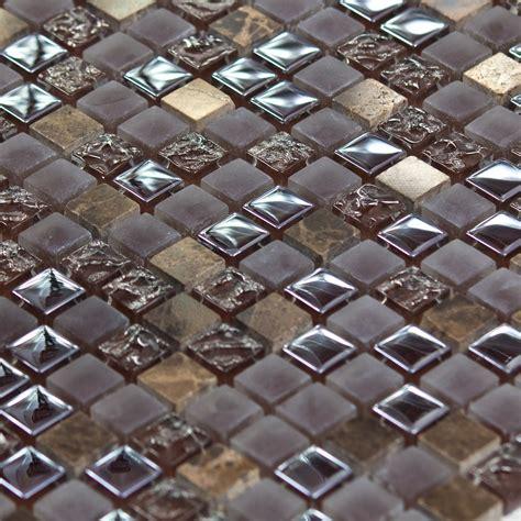 mosa 239 que marbre et verre caramel color marron indoor by