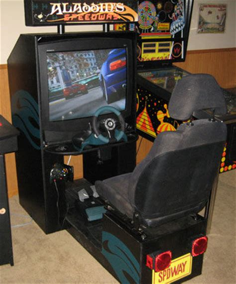 how to build a sit driving arcade cabinet