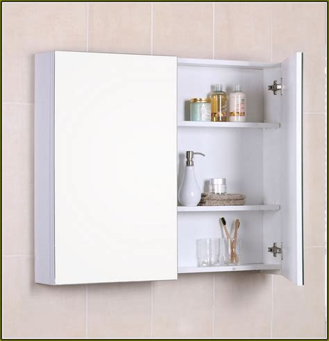 White Bathroom Wall Cabinet Without Mirror by Medicine Cabinet Extraordinary Recessed Medicine Cabinet