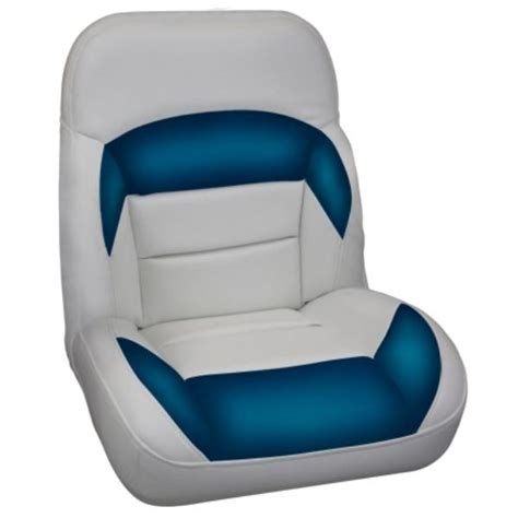 captains low back recliner boat seat