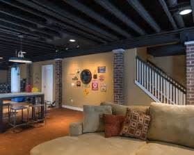best 25 basement ceiling painted ideas on finish basement ceiling unfinished
