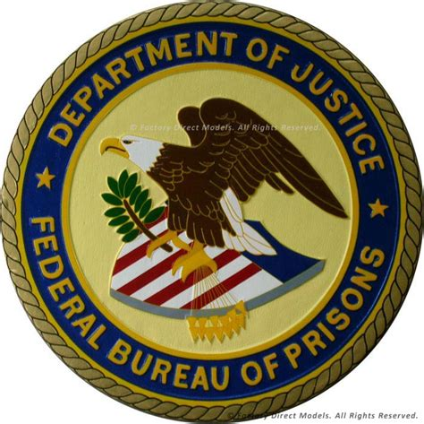 department of justice federal bureau of prisons