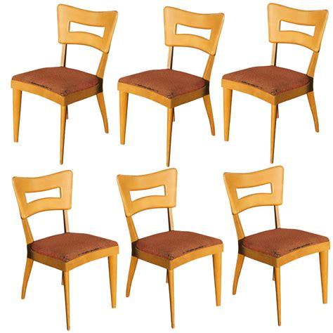 6 vintage heywood wakefield dining chair dogbone m154 on
