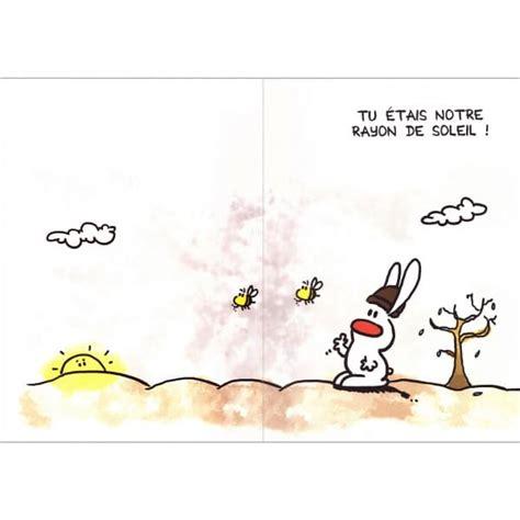maxi carte au revoir show lapin cadeau maestro
