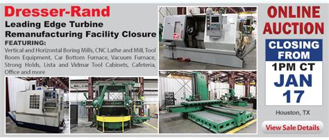 used industrial machinery auctions at perfection global