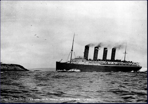 rms lusitania vintage everyday