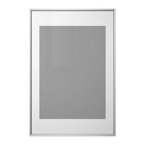 silverh 214 jden frame silver colour 61x91 cm ikea