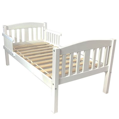 bed toddler bed white