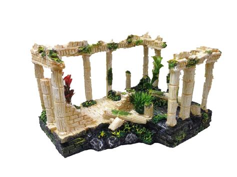 ancient ruins ornament for aquarium fish tank decoration terrarium decor ebay