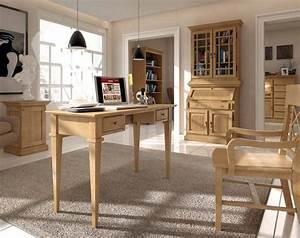 Schreibtisch Im Wohnzimmer : schreibtisch duett pinie massiv karamell voglrieder ~ Markanthonyermac.com Haus und Dekorationen