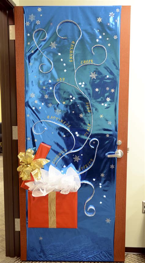 door decoration contest sparks new tti tradition a