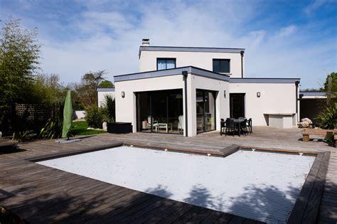maison d architecte tournefeuille la ramee contemporaine avec piscine kiosquimmo