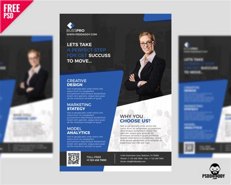 Business Flyer Template Free Psd