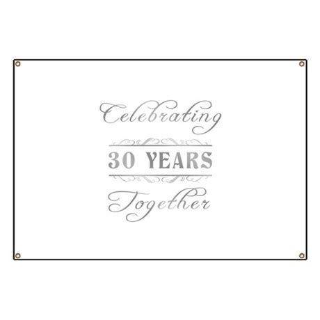 Celebrating 30 Years Together Banner By Pixelstreetann