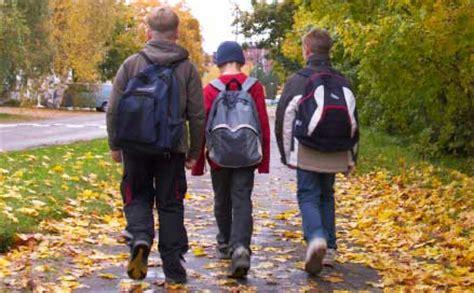 walking home from school david r cawley middle school