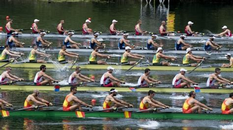 Boat In Spanish Rowing by Rowing Schedule For Rio 2016 Summer Olympic Games