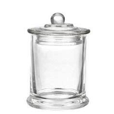 bocal 224 bonbon verre 2 25 l avec couvercle inox bonbon et pots
