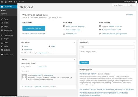 How To Install, Configure And Run Wordpress 3.8 On Rhel
