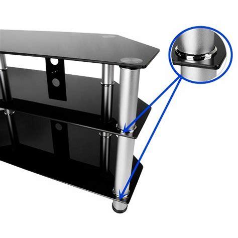 meuble tele en verre noir id 233 es de d 233 coration int 233 rieure decor