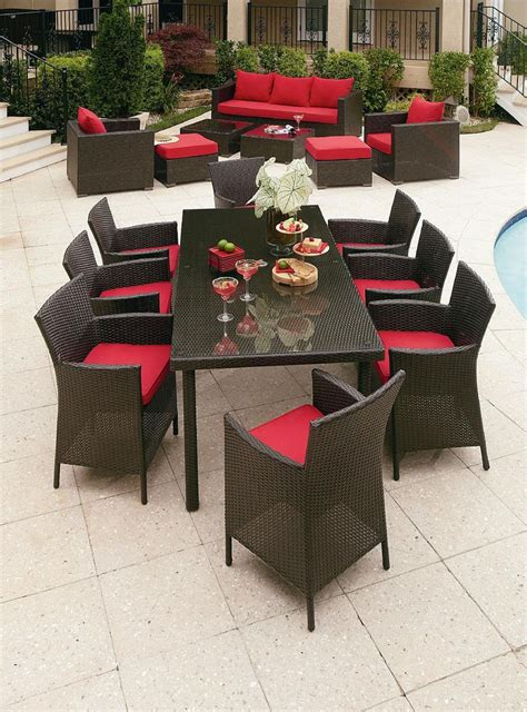 grand resort osborn 9 dining set outdoor furniture accessories design ideas