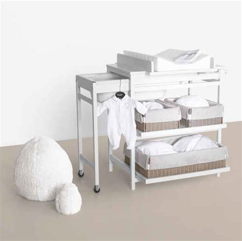 table a langer avec baignoire childwood top childwood prix pack retro white lit with table
