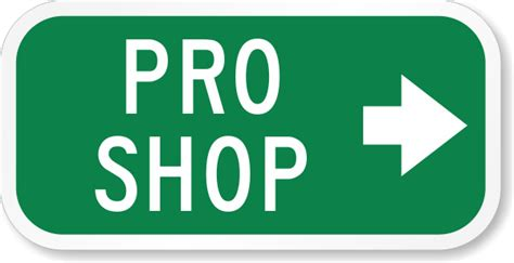 Pro Shop With Right Arrow Sign  Property Sign, Sku K5435. Signal Signs Of Stroke. Fever Rash Signs. Skin Signs. Crooked Mouth Signs Of Stroke