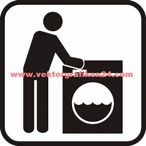 Symbole Auf Waschmaschine : piktogramm waschmaschine ~ Markanthonyermac.com Haus und Dekorationen