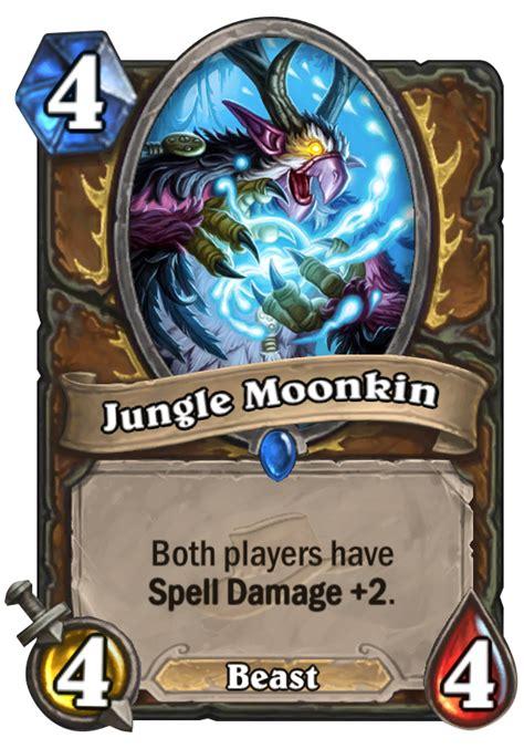 jungle moonkin hearthstone card