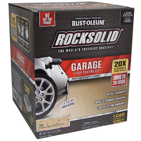 rust oleum 60007 rocksolid polycuramine garage floor
