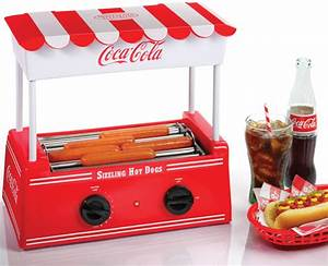 Hot Dog Machen : coca cola hot dog roller grill bun warmer mini electric hotdog cooker machine ebay ~ Markanthonyermac.com Haus und Dekorationen