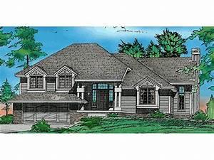 Bonnieview Split-Level Home Plan 026D-0332 | House Plans ...