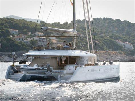 Catamaran Hire Ionian by Lagoon 560 Crewed Luxury Catamaran Yacht Charter Greece