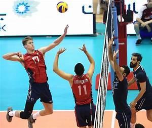U.S. Men's Volleyball Team Falls Twice to Iran ...