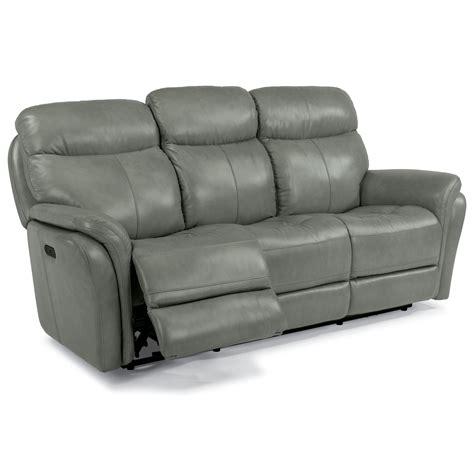 Flexsteel Latitudes Power Reclining Sofa by Flexsteel Latitudes Zoey Power Reclining Sofa With Usb