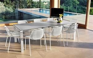 Gartenmöbel Modern Design : wei e designer outdoor garnitur round lifestyle und design ~ Markanthonyermac.com Haus und Dekorationen