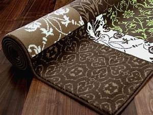 Braun Und Grün Ergibt : designer teppich passion braun gr n patchwork ebay ~ Markanthonyermac.com Haus und Dekorationen