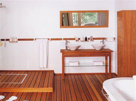 les salles de bains en bois le journal de la maison