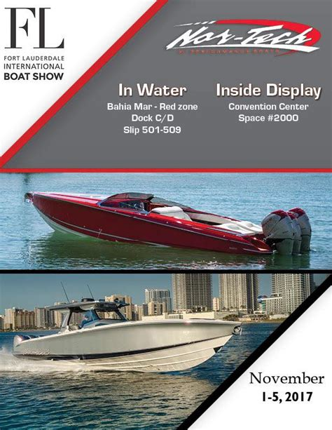 Nor Tech Hi Performance Boats In North Fort Myers by Fort Lauderdale International Boat Show Nor Tech Hi