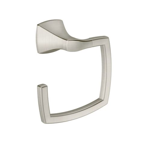 Moen Voss Faucet Direct by Moen Csiyb5186bn Brushed Nickel Towel Ring From The Voss