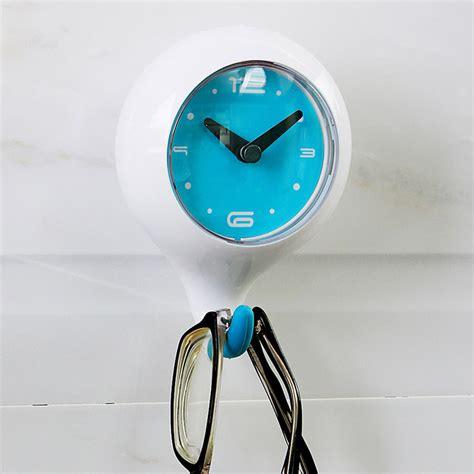 horloge murale pour salle de bain