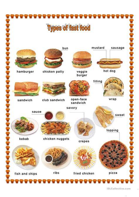 different types of food worksheet free esl printable worksheets made by teachers