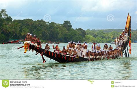 Dream Boat Race by Snake Boat Races Of Kerala Editorial Image Image 34641675