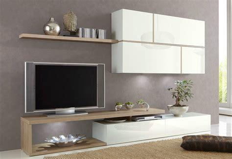 composition tv murale design laqu 233 e blanche birdy