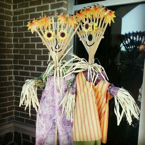 Diy Scarecrow For Garden diy scarecrows pumpkin season