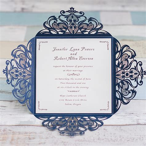 Graceful Navy Blue Laser Cut Wedding Invitation Ewws030 As. Wedding Reception Catering Dayton Ohio. Wedding March Figaro. Wedding Favors Wording. Midnight Vineyard Wedding Invitations. Wedding Wishes By Kimberley. Best Wedding Photographers New Jersey. Wedding Present Ideas For Second Marriage. Wedding Shower After Eloping
